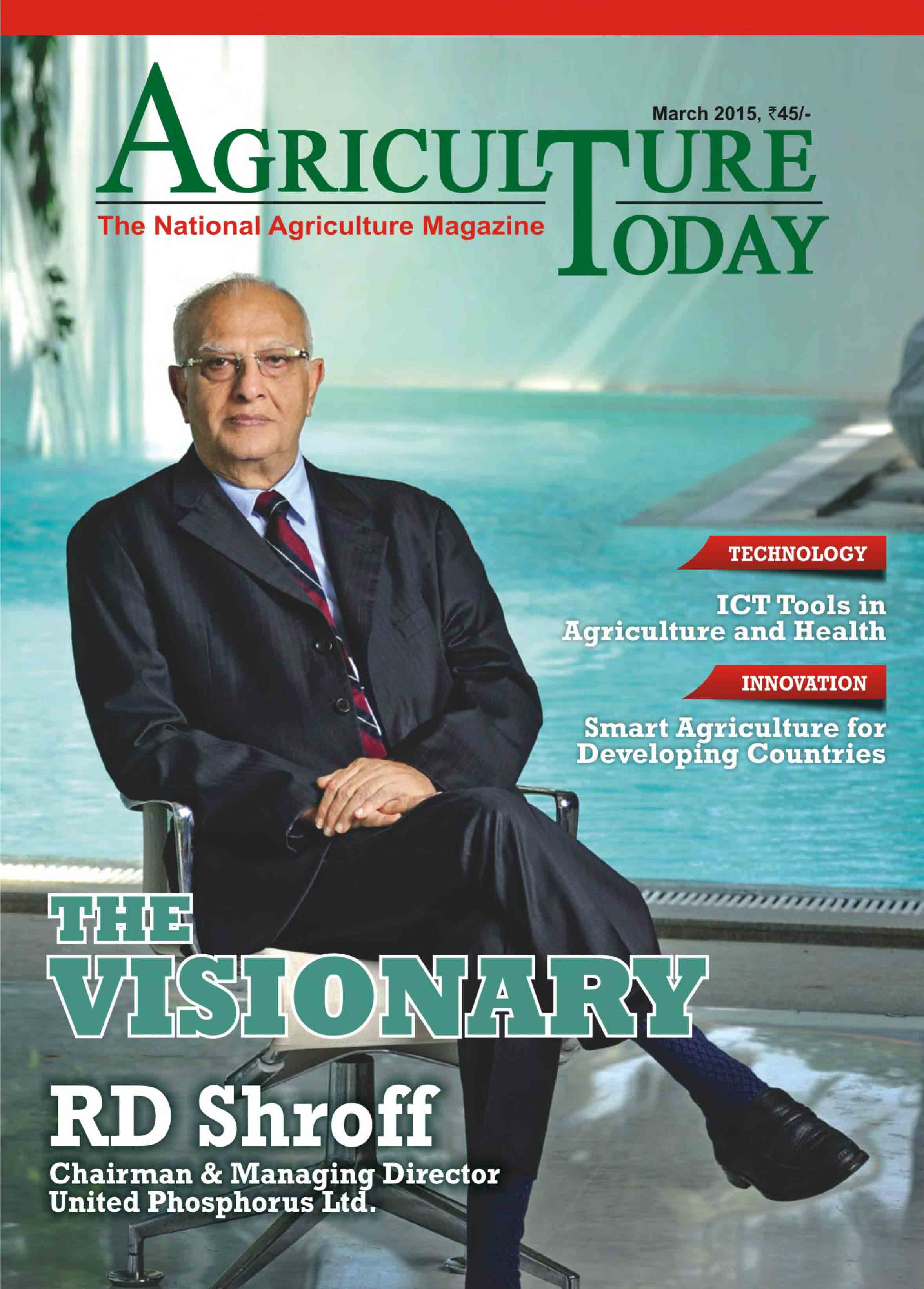 Read Agriculture Today Online Magazine