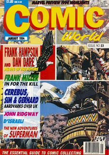 Read Comic World Online Magazine