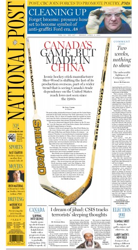 The National Post epaper