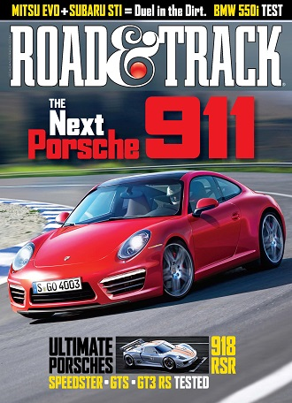Read Road & Track Online Magazine
