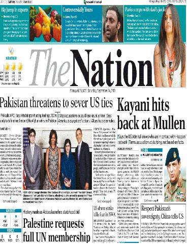 The Nation Epaper