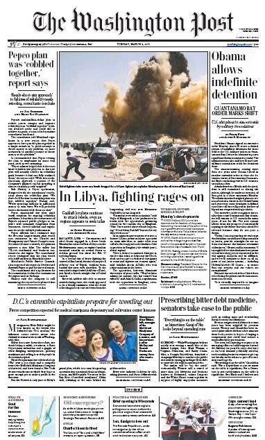 The Washington Post Epaper   Washington Post Online Newspaper